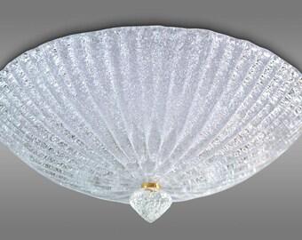 Ceiling light in crystal Graniglia