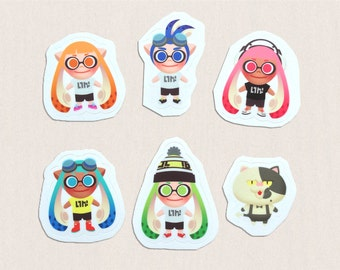 Splatoon Sticker Pack