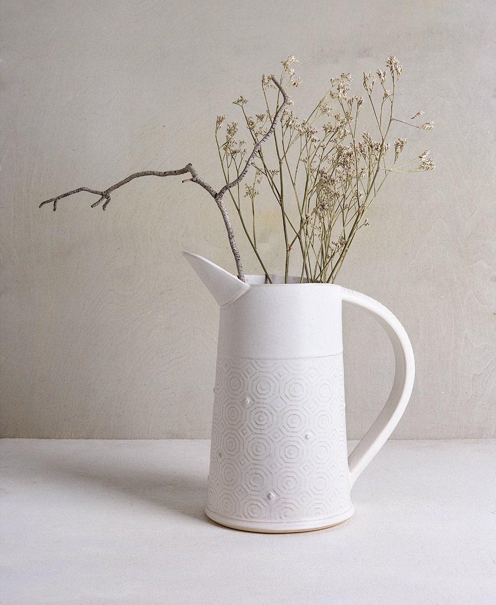 Pottery vase ceramic white vase white flower vase modern zoom reviewsmspy