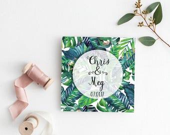 Printable Wedding Invitation | Wedding Invitations | Tropical Destination Wedding | Digital | Wedding Invite