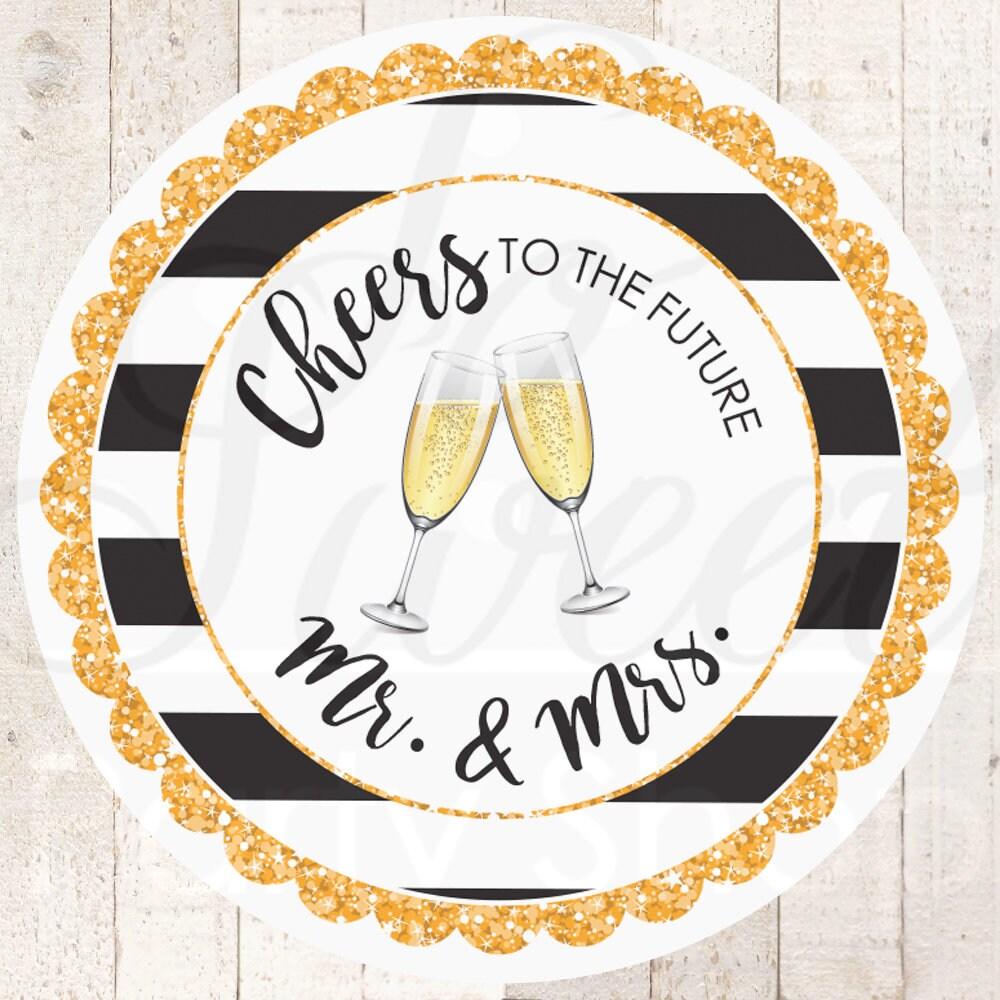 Wedding Favors Sticker Labels Bridal Shower Favors