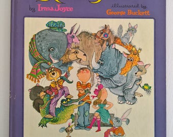 Never Talk to Strangers by Irma Joyce --- Illustrated by George Buckett --- Vintage 1960's 1970's Children's Picture Book --- Life Lessons