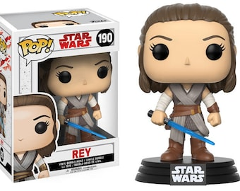 Rey from Star Wars Movies - POP Funko Figure 10 cm