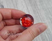 Everlasting Red Rose Marb...