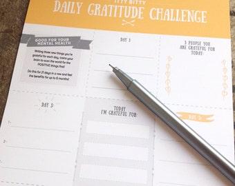 Gratitude Download, Gratitude Printable, Gratitude Journal, Weekly gratitude sheet, Digital Download, Instant Download, Mental Health Sheet