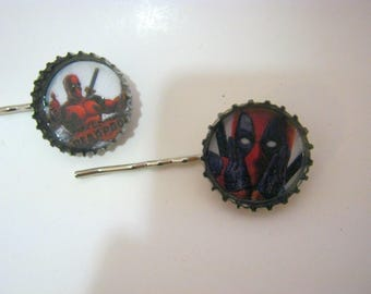 DeadPool Bobby Pins Hair Pins