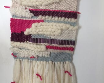 50 weaving wall decoration - unique - handmade