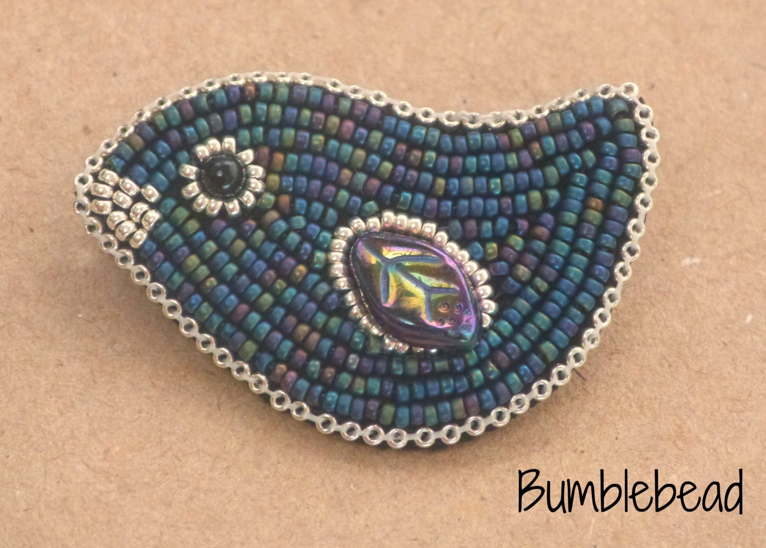 beaded brooch pin embroidery embroiderybroochdiy