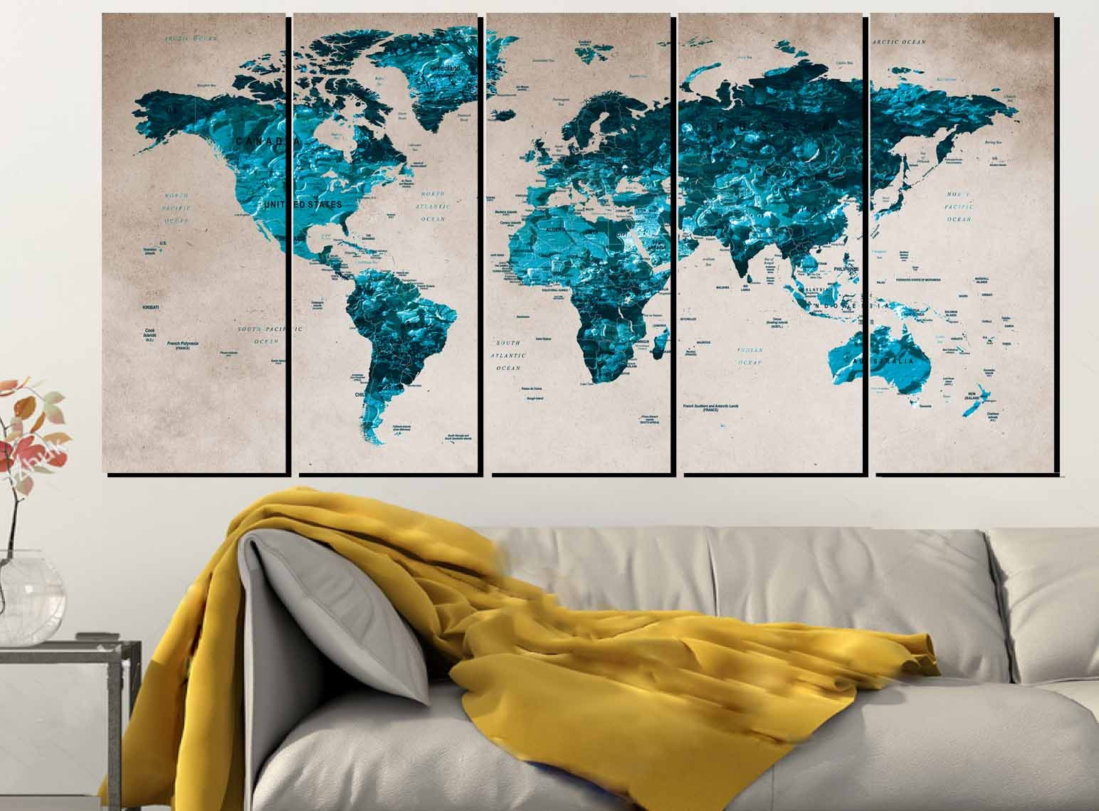 World map blueworld map wall artlarge world mapworld map canvas decalworld map abstract gallery photo gallery photo gallery photo gallery photo gallery photo gumiabroncs Images