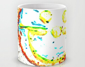 SMILE Cookie 11oz Ceramic Mug. Photo Art by TMCdesigns. Love. Happy. Joy. Holiday Gift. Coffee Mug. Friendship. Positive. Funky. Teens. YES!