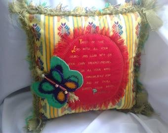Scripture Pillow Proverbs 3