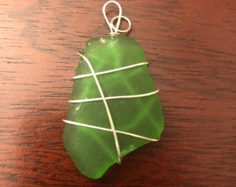 Custom Sea Glass Pendant