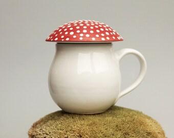 Mushroom mug Amanita