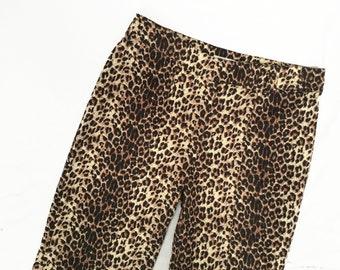 Leopard Print Trousers