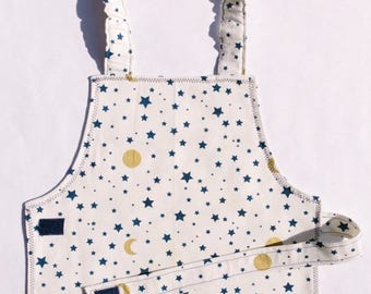 Toddler Moon and Star Apron