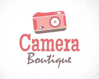 Premade Logo Design • Vintage Camera