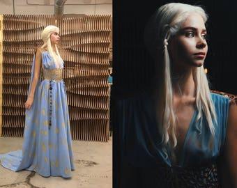 MADE TO ORDER - Game of Thrones - Daenerys Targaryen cosplay dress and belt