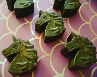 Rum and Cola unicorn mini soap