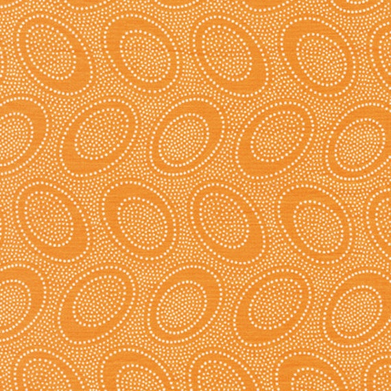 ABORIGINAL DOT Cantaloupe orange GP71 Kaffe Fassett Collectives Sold in 1/2 yd increments
