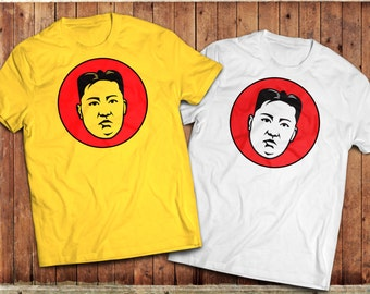 Kim Jong-un T-Shirt, North Korean Supreme Leader Tee, Communism