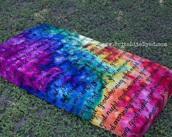 Baby Crib Fitted Sheet - Tie Dye Crib Sheet - Tye Dye Crib Sheet - Nursery - Tie Dye - Tye Dye - Rainbow Baby - Hippie Baby - Hippy Baby