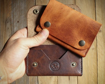 Leather Wallet, Leather card Wallet, Biker Wallet, Wallet, Mens Wallet, Leather Card Holder, Card Holder, Leather Accessories