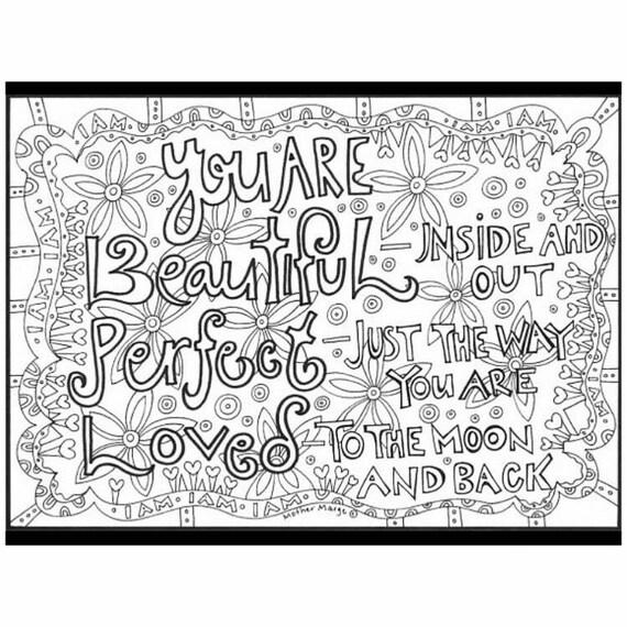 U R hermoso perfecto Amado para colorear descargar de la