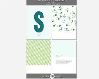 Conspiratorial Smile - Mar 17 Vol 03 - Journal Cards