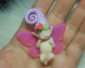 Miniature baby , custom hand sculpted, hand made item , original hand art dolls