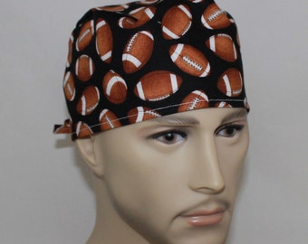Men's Surgical Scrub Cap-The Whole 9 Yards 61317