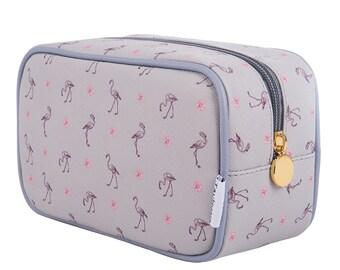 TaylorHe Make-up Bag Cosmetic Case Toiletry Bag Pencil Case Elegant as Flamingo
