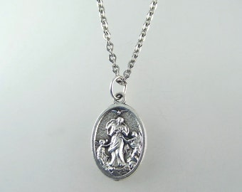 Our Lady Undoer of Knots Medal Necklace