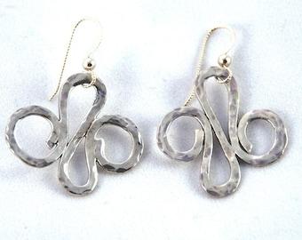 Signature Silver Earrings