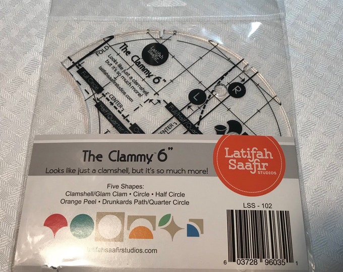 "The Clammy 6"" Template"