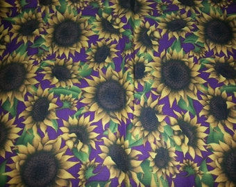Sunflower Cotton Fabric,Angela Anderson,,VIP,2 yards and 30 Inches