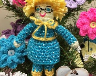 Mrs. Beasley Inspired CROCHET PATTERN