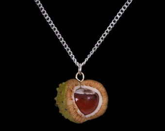 Summer Horse Chestnut (Conker) Necklace