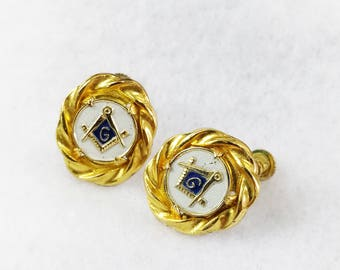 Masonic Earrings  (Special Offer:30% OFF)