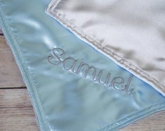 Lovies - 12 inch Security Blankets with custom name