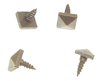 Pyramid Screw - Pyramid Head Screw for Furniture Signage, and Framing Mission Style Screw Craftsman Screw