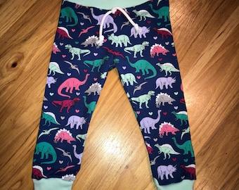 Girl Dinosaur Leggings