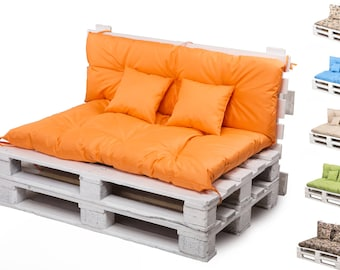 Pallet Cushion, Furniture, Bench Cushion High Quality Sets,Bedroom, Pallet ideas Water Resistant, free two pillows 30x30cm eight colors