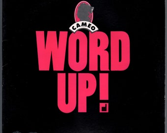 "Cameo - Word Up (1986) Vinyl 12"" Single; Urban Warrior"