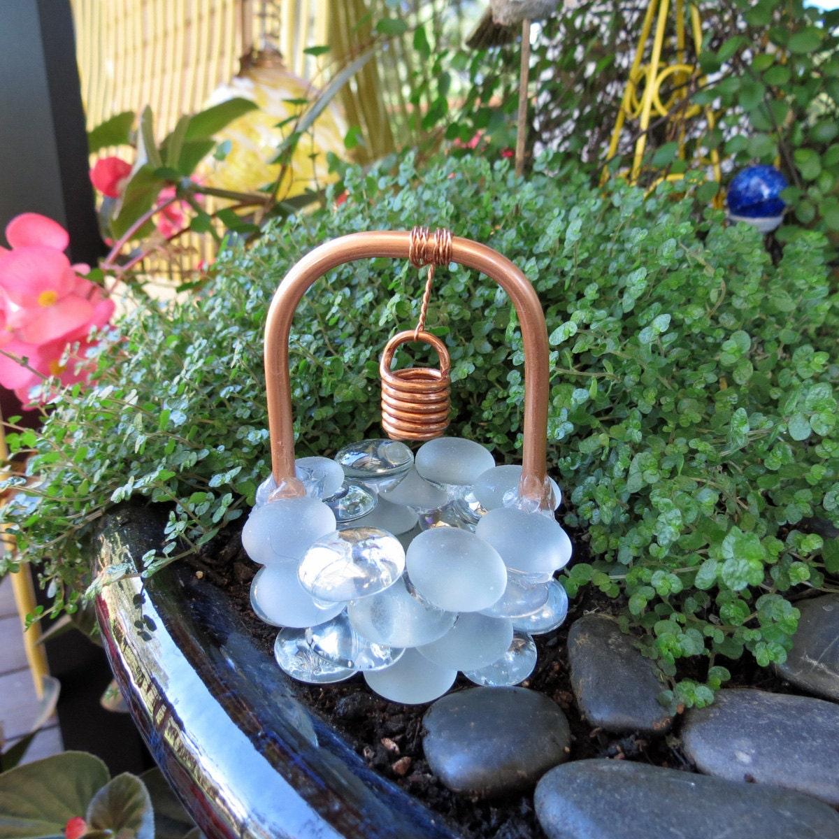Fairy Garden Accessories Wishing Well Crystal