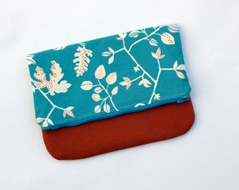 clutch bag // foldover purse // accessory pouch // the alpha clutch // READY TO SHIP
