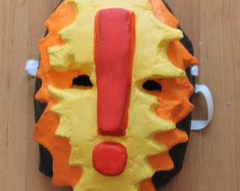 BANG! Mask | Paper Mache Mask | Costume