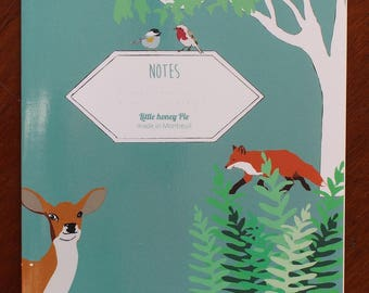 Small notebook forest
