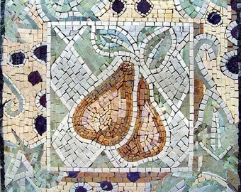 Mosaic Patterns- Yellow Pears