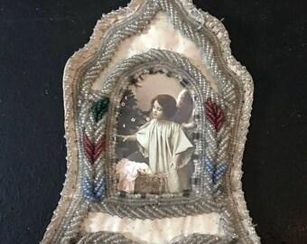 victorian frame, hand made, Jeanne d'arc, Vintage by Nina
