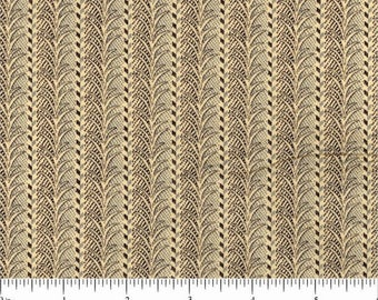 Charlotte by Jo Morton  For Andover Fabrics - Civil War Reproduction Fabric - 8041 KL - Stripe 100% Quilting Fabric